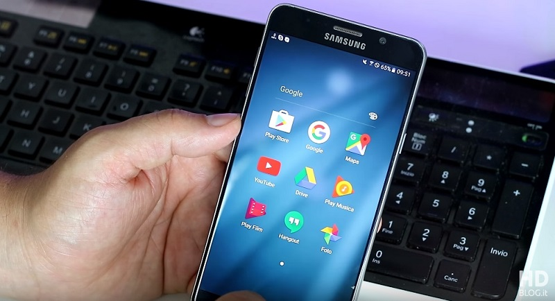 Samsung Galaxy Note 7, Touchwiz Grace