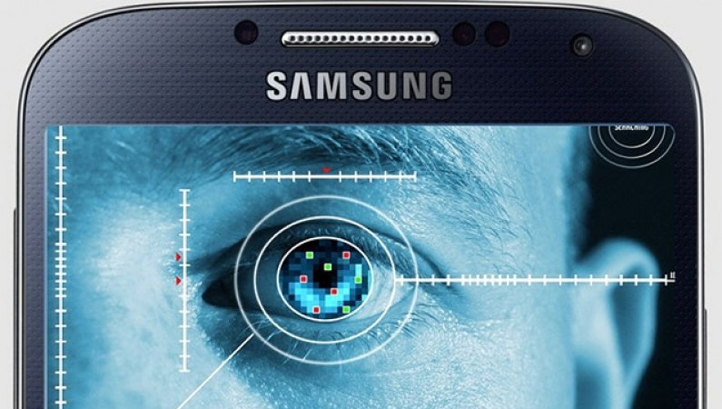 Scanner d'iris du Samsung Galaxy Note 7