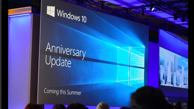 Windows 10 Anniversary, Mise à jour