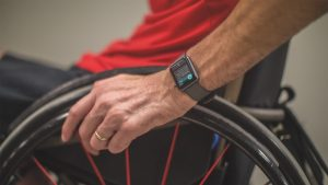 Apple Watch, fauteuil roulant