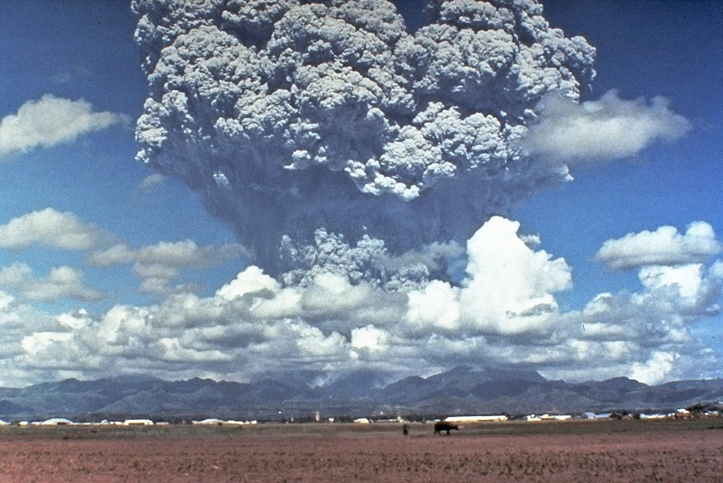 Éruption du volcan Pinatubo en 1991