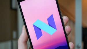 Android 7.0 Nougat, Sony