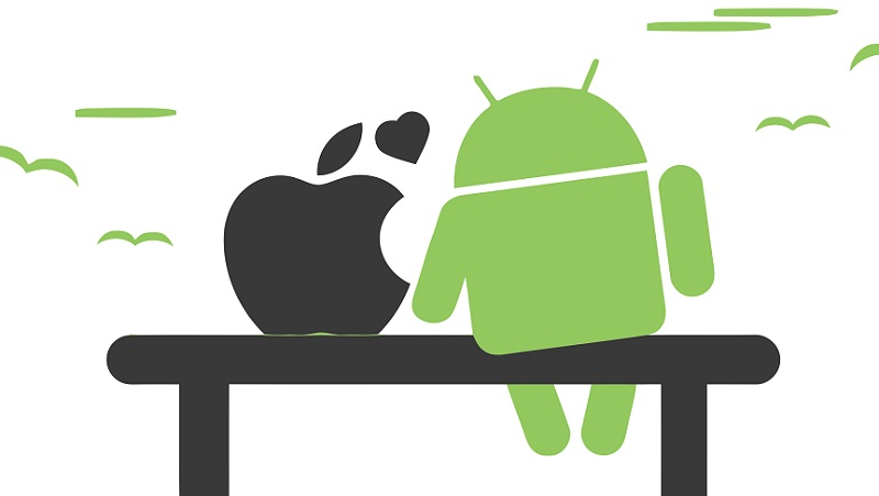 iOS, Android, marché des OS