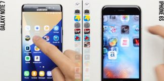 iPhone 6s Plus vs Galaxy Note 7