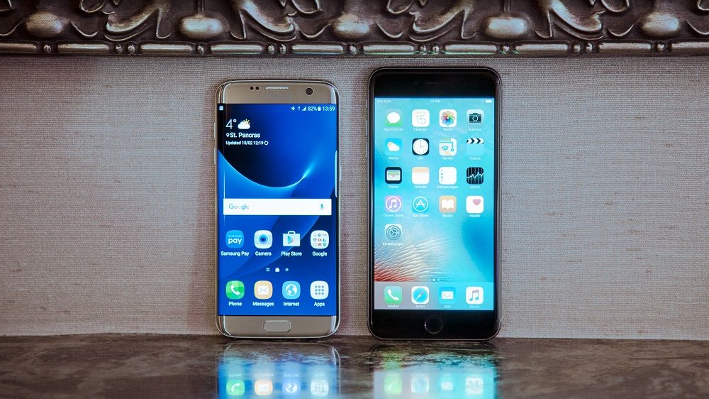 iPhone 6S Plus vs Galaxy S7 Edge, le duel choc de l'année