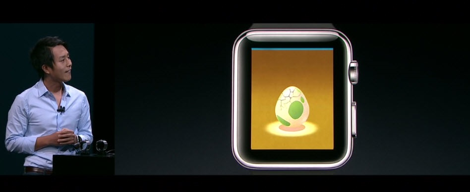 Apple Watch, Pokémon Go