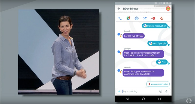 Google Assistant Allo