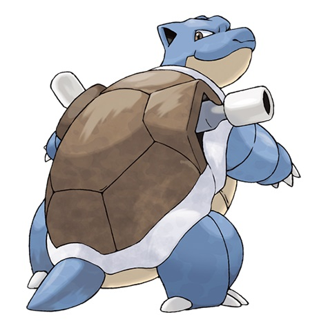 Pokémon les plus forts : Tortank