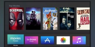 tvOS 10, Apple TV