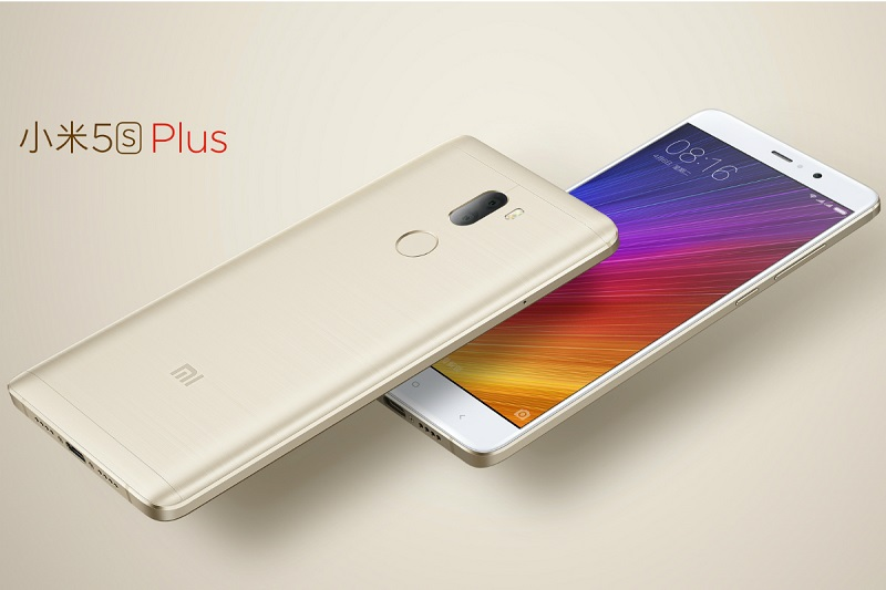 Xiaomi Mi 5s Plus couleur or