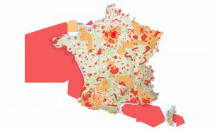 Zones de restriction des drones en France