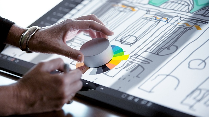 Surface Dial, Surface Studio
